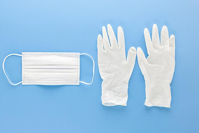 画像:飛沫感染防止対策イメージ