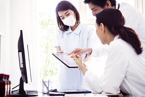 画像:地域に信頼される医療